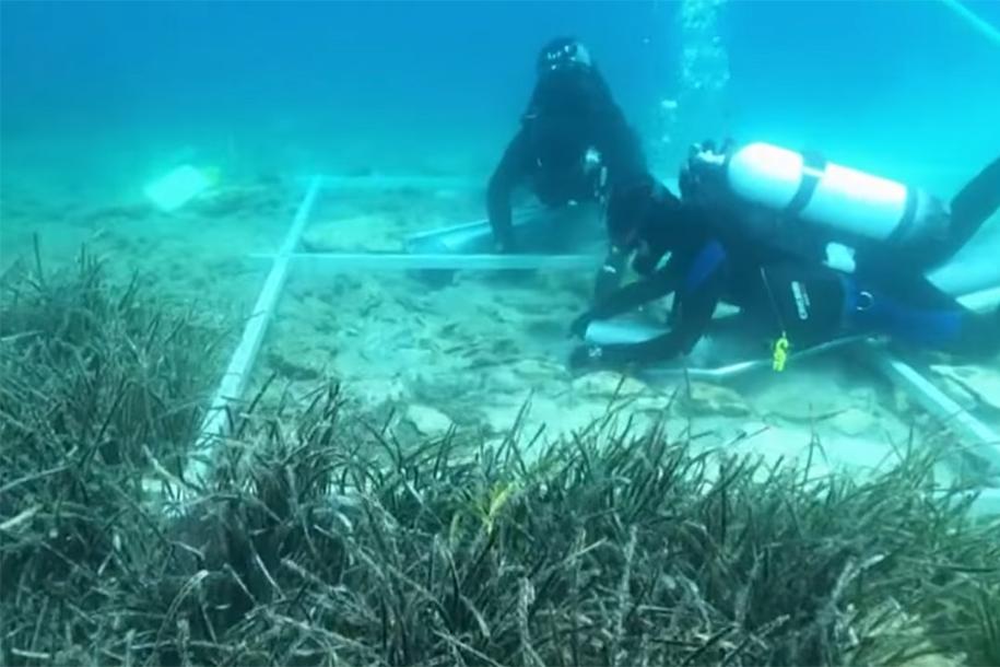 Ősi település romjaira bukkantak az Adriai-tengerben – Fotón a hat és fél ezer éves lelet