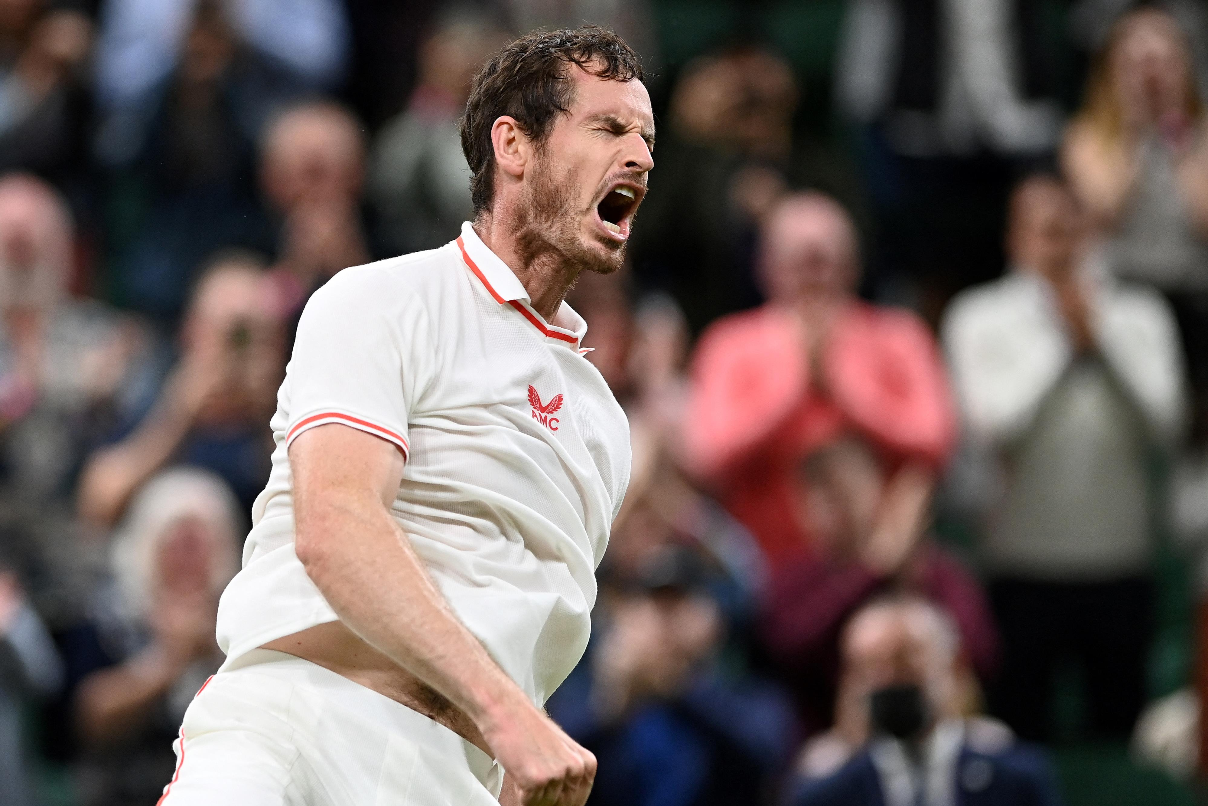 Andy Murray fantasztikus győzelemmel tért vissza Wimbledonban