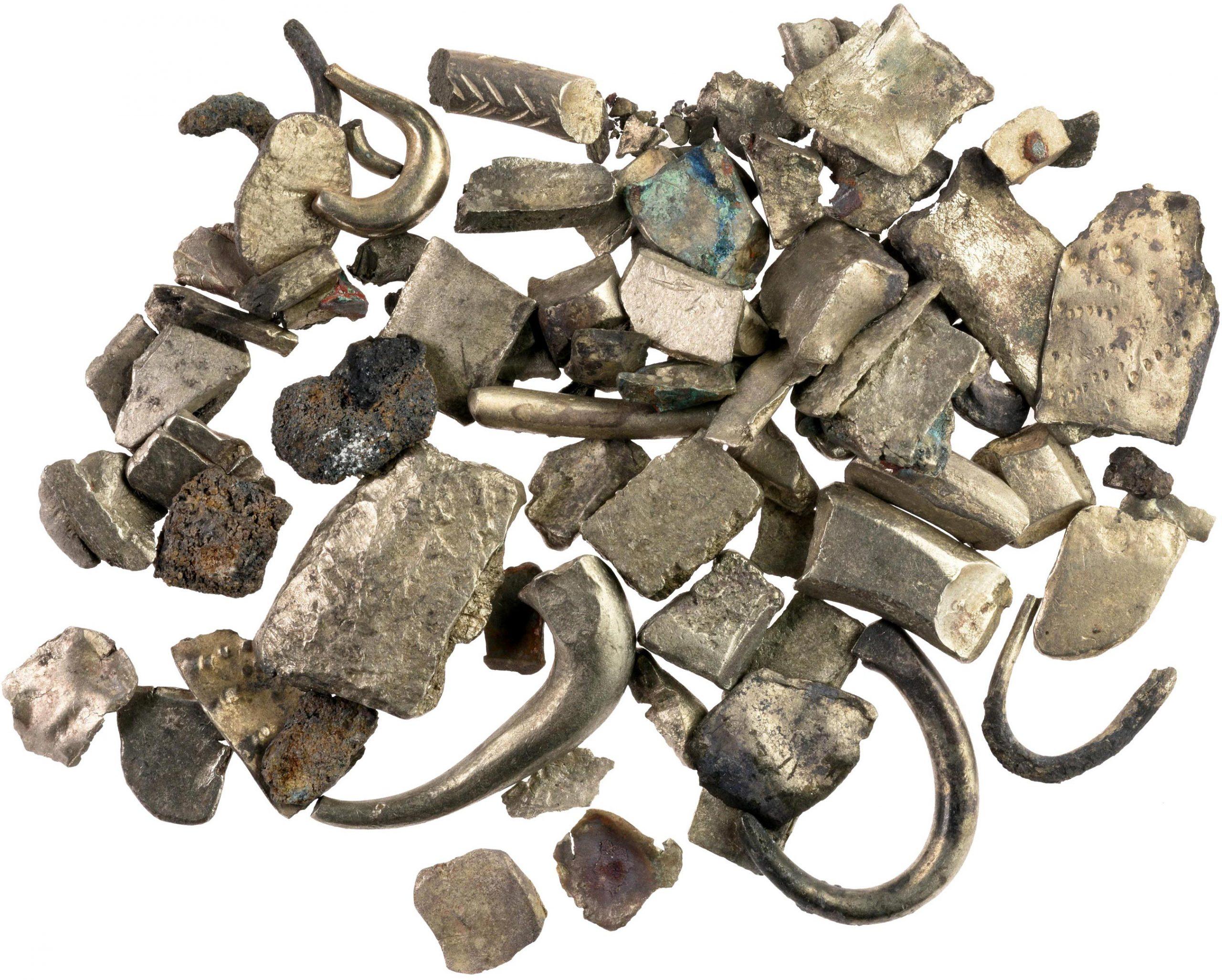 Ezüstdarabok töredékeivel kereskedtek a bronz- és a vaskorban