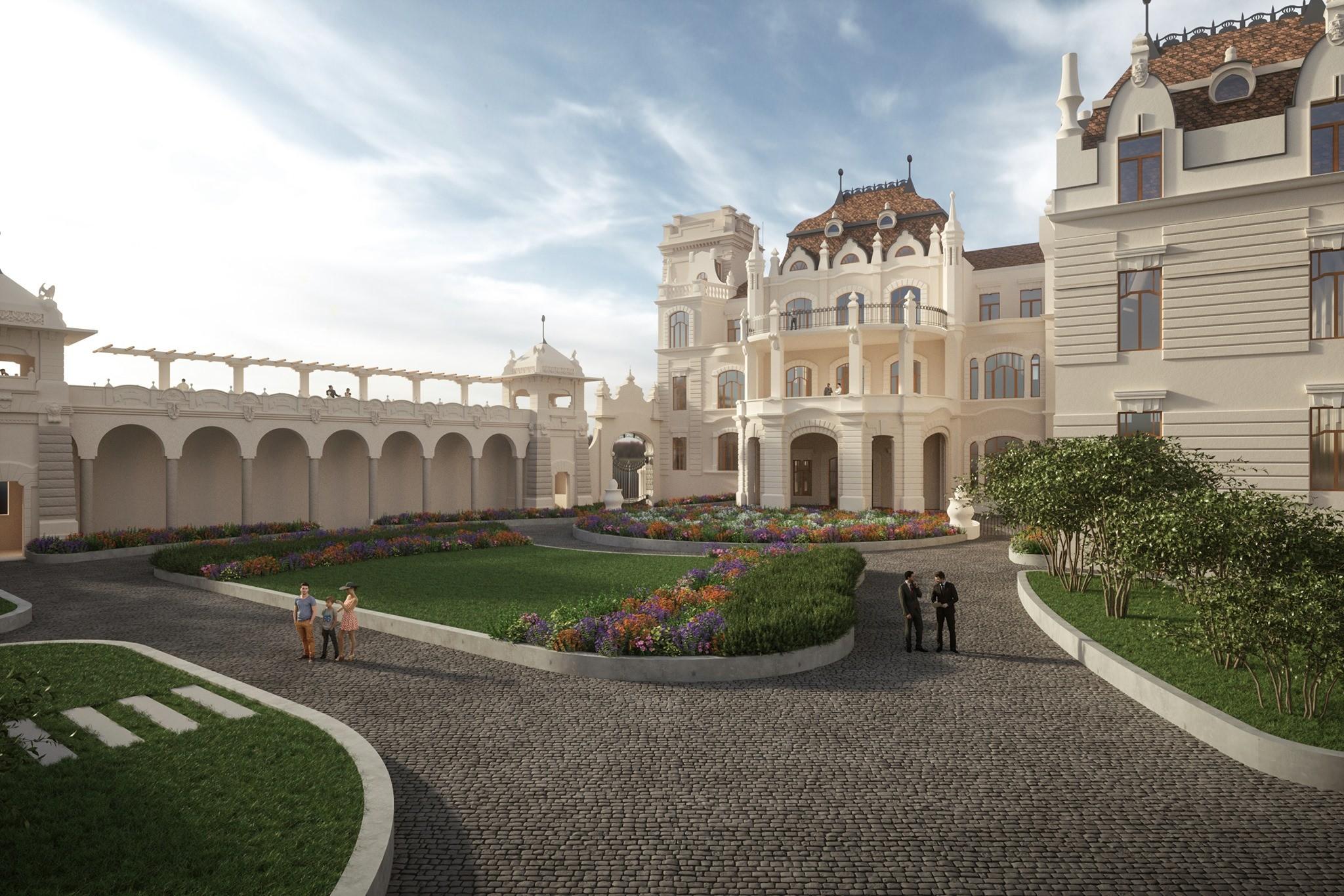 Megújul a budai vár egyik legimpozánsabb épülete – képek