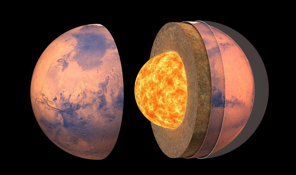 Kiderült, mit rejt a Mars belseje