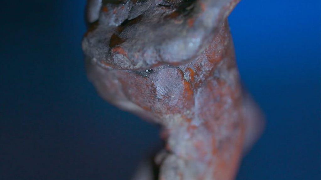 Igencsak szokatlan helyen találták meg Michelangelo ujjlenyomatát