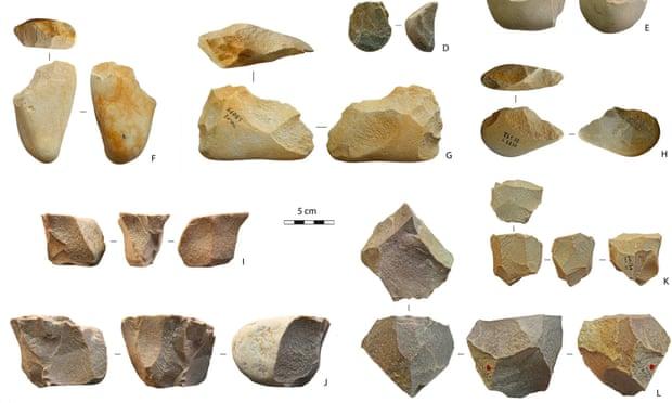 Megtalálták a legősibb észak-afrikai kőszerszámokat