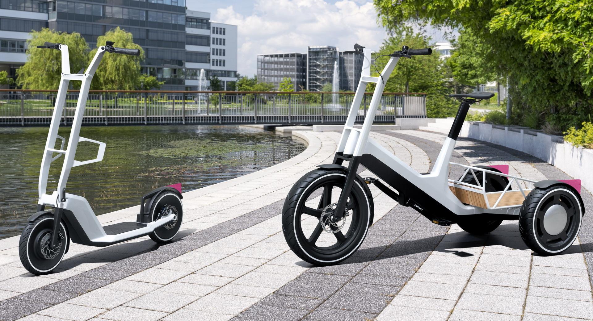 Elektromos rollert és triciklit tervezett a BMW