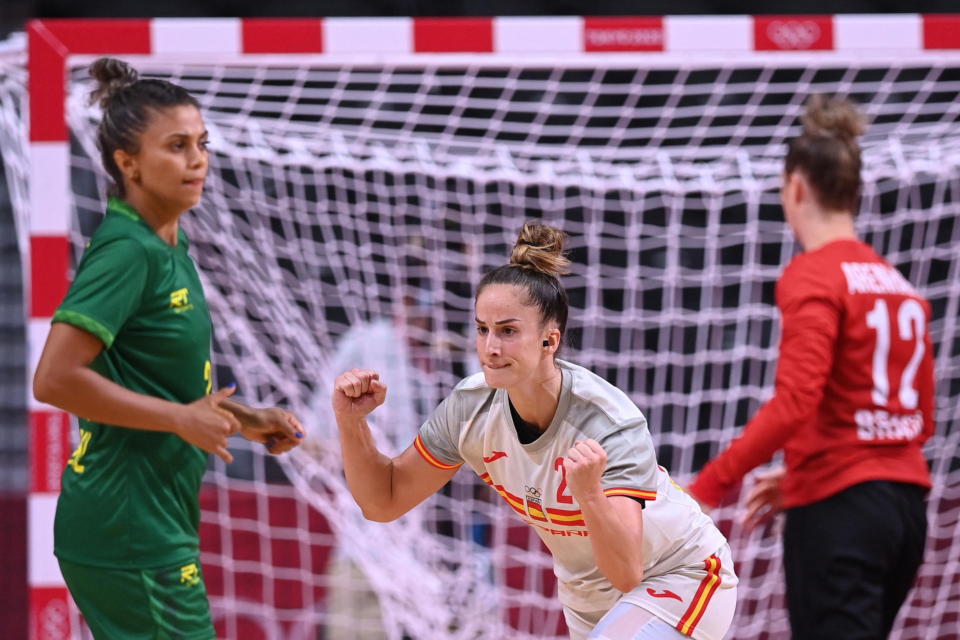 A spanyol női kézilabdázók legyőzték Brazíliát
