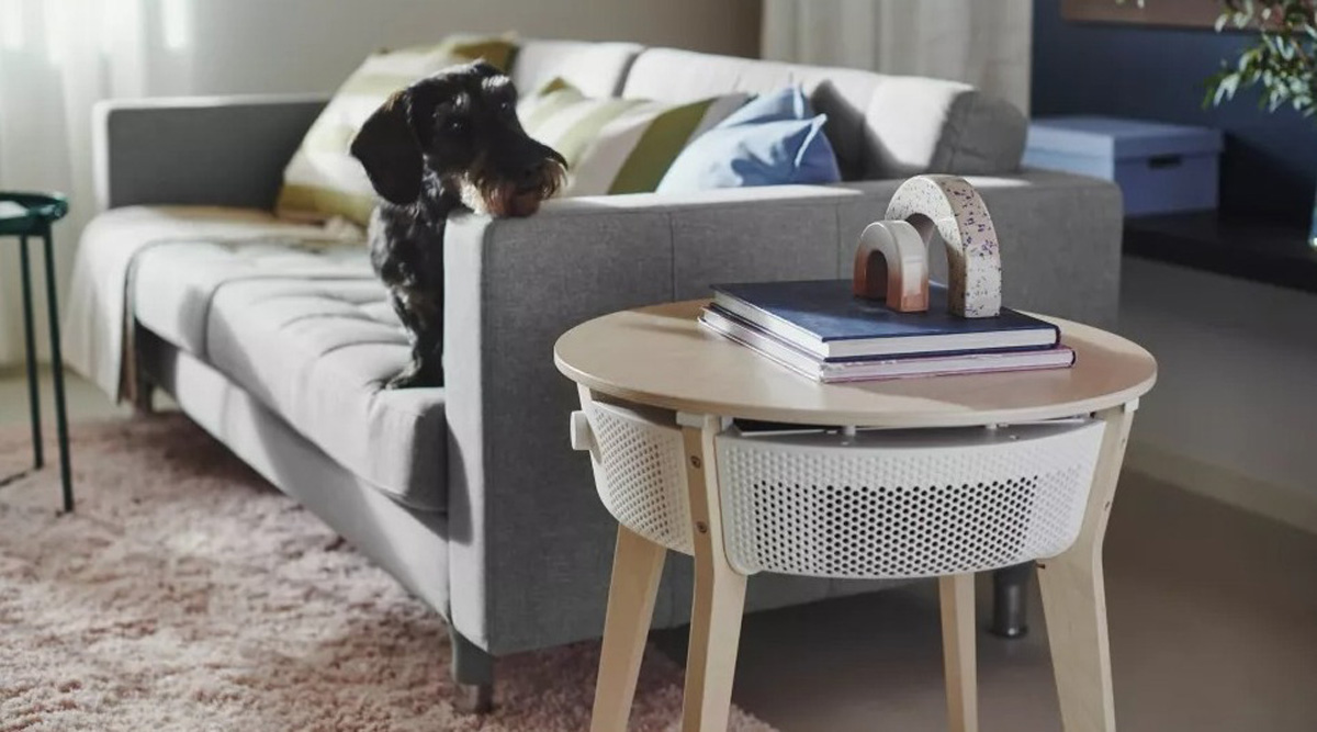 Okos légtisztítót épített az asztalkájába az IKEA