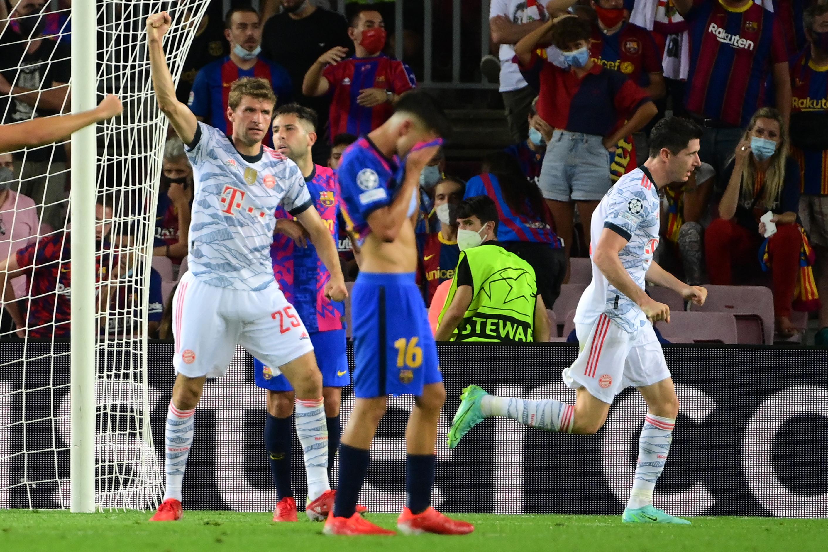 Szórakozva alázta meg a Barcelonát a Bayern München