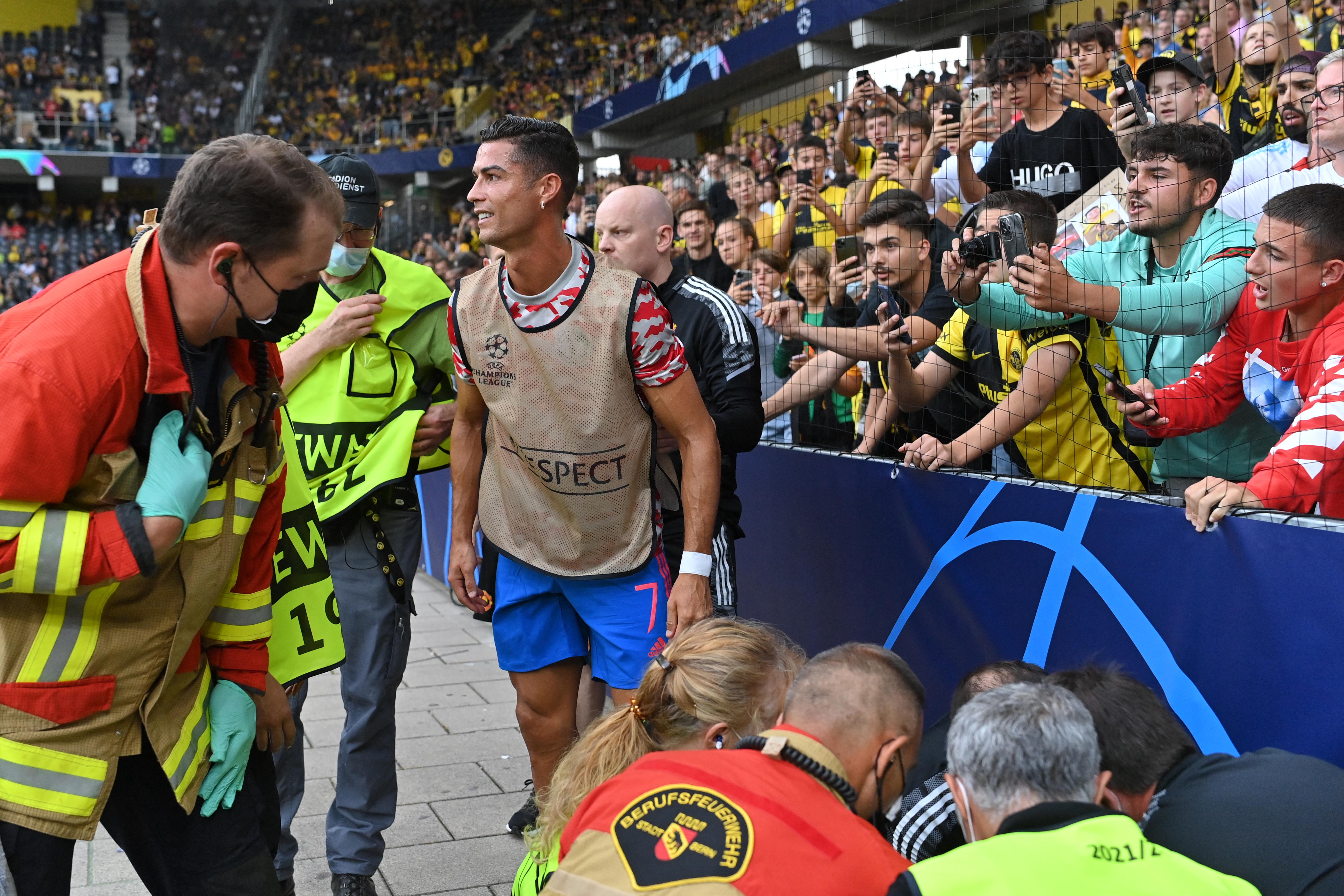 Ronaldo szétlőtt egy biztonsági őrt, majd megszerezte a 135. BL-gólját - galéria