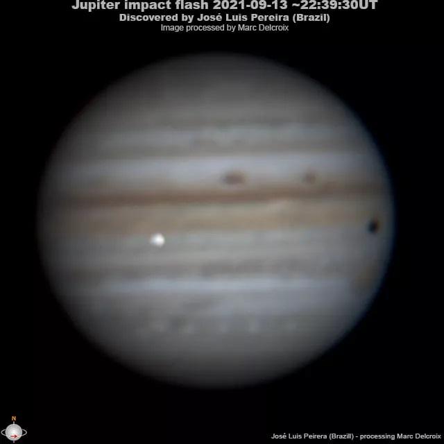 A Jupitert filmezte egy csillagász, amikor váratlan dolog jelent meg a felvételen