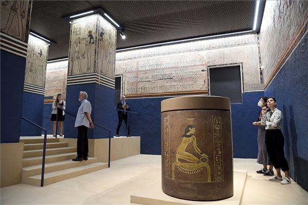 Világszínvonalú ó-egyiptomi kiállítás nyílt Budapesten