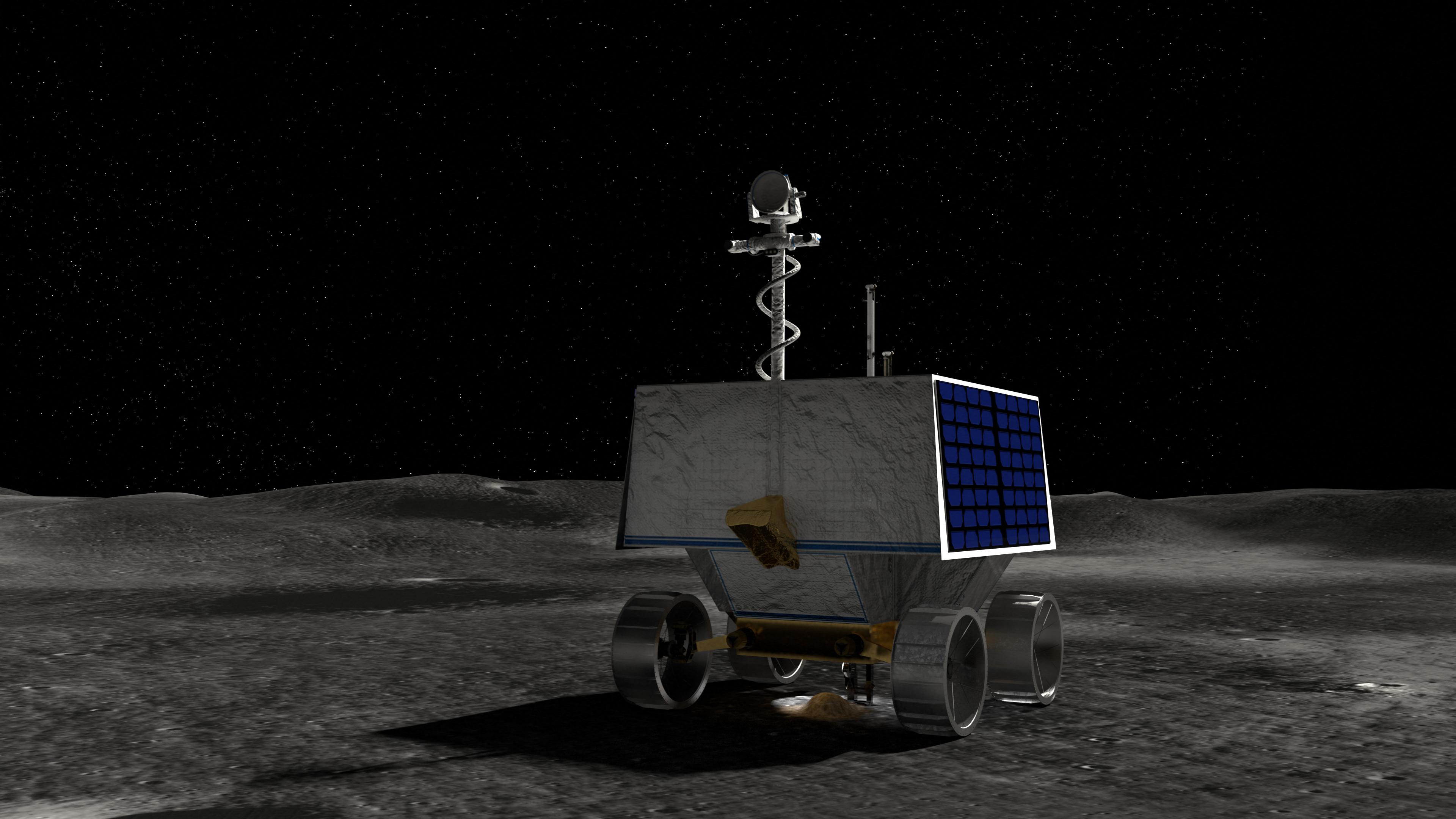 Ide fog leszállni a Vipera a Holdon