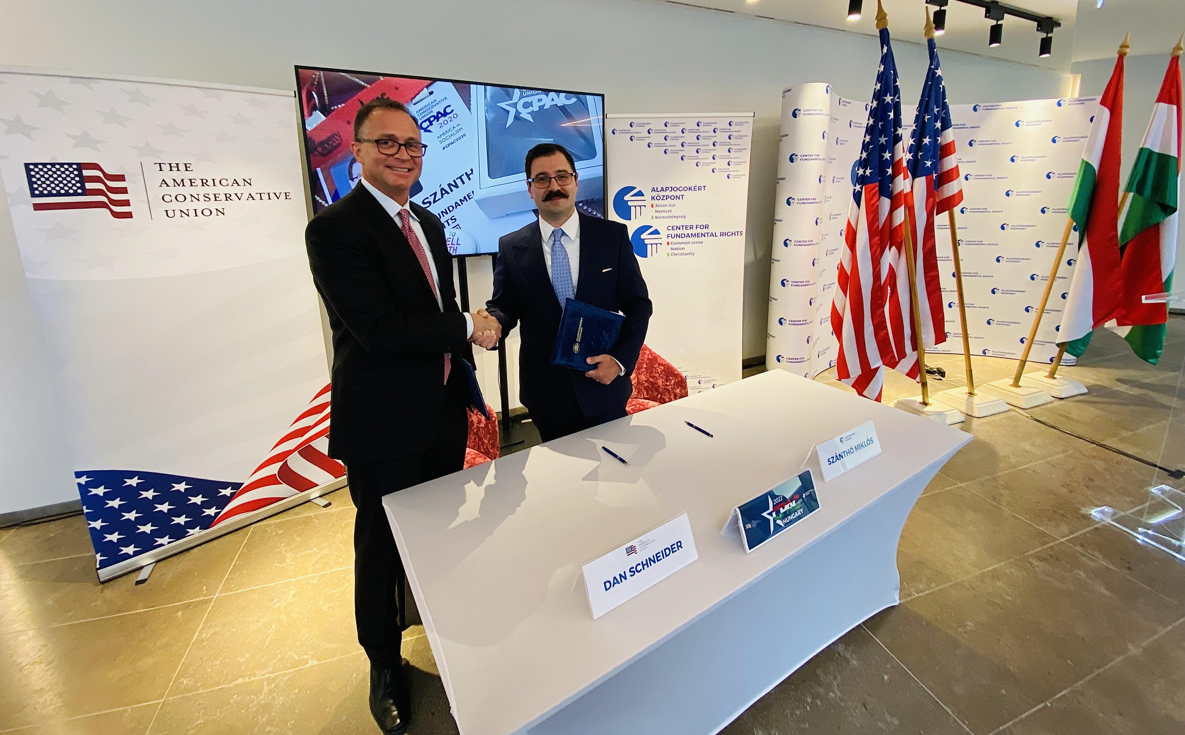 Magyarországra hozza az Alapjogokért Központ Amerika legnagyobb konzervatív rendezvényét, a Conservative Political Action Conference-t