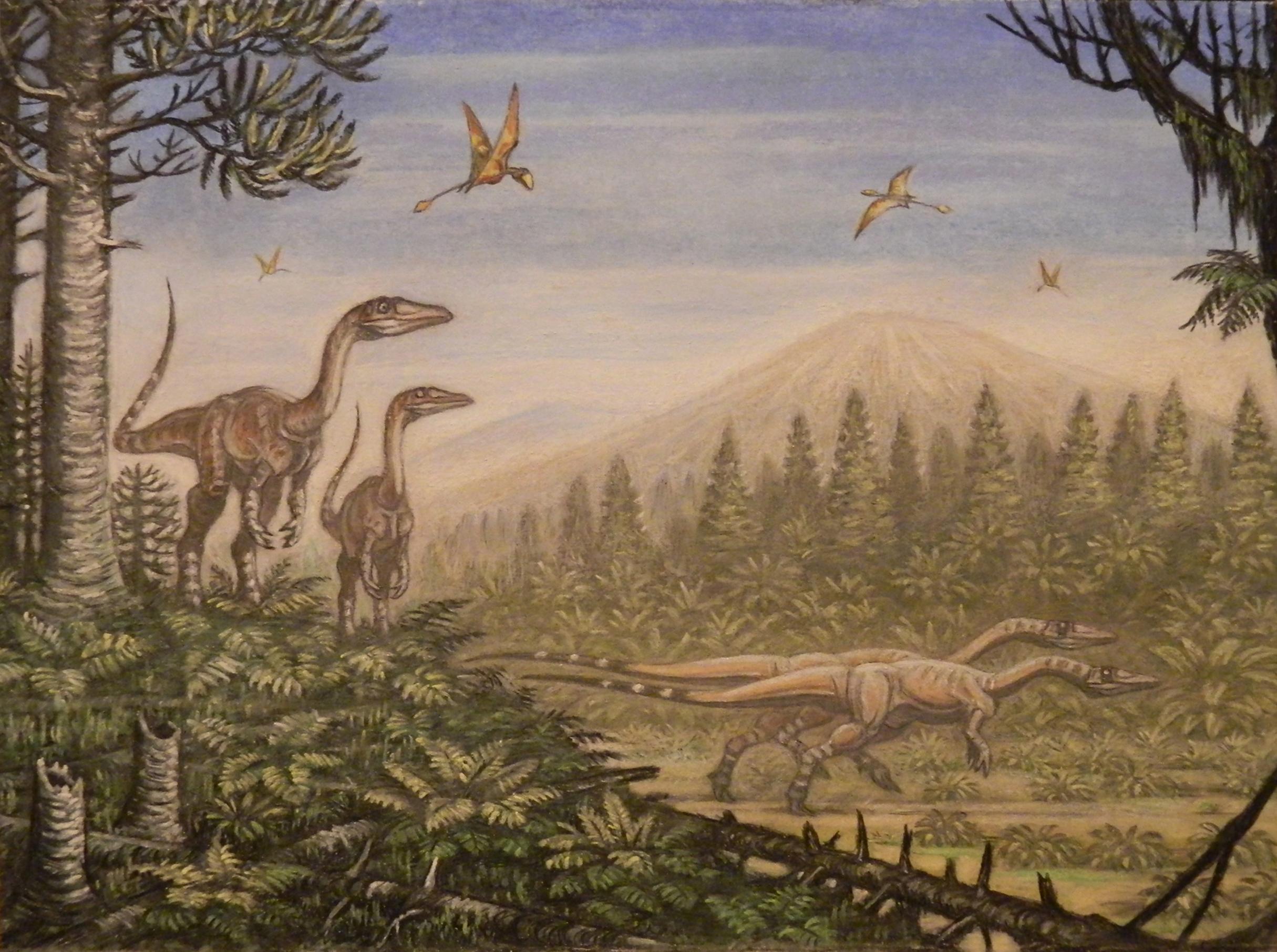Néhány dinoszaurusz csóválhatta a farkát