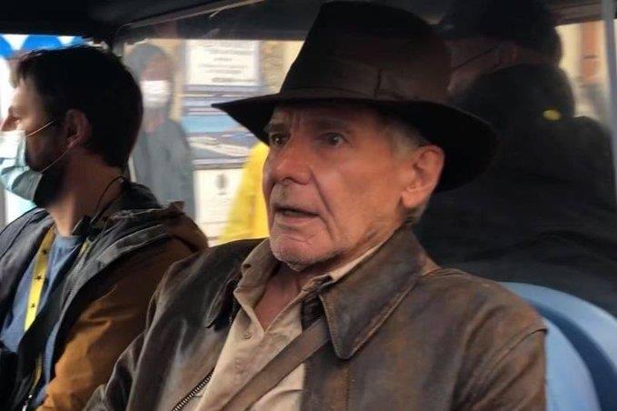 Harrison Ford Szicíliában forgatja az Indiana Jones 5-öt – fotók