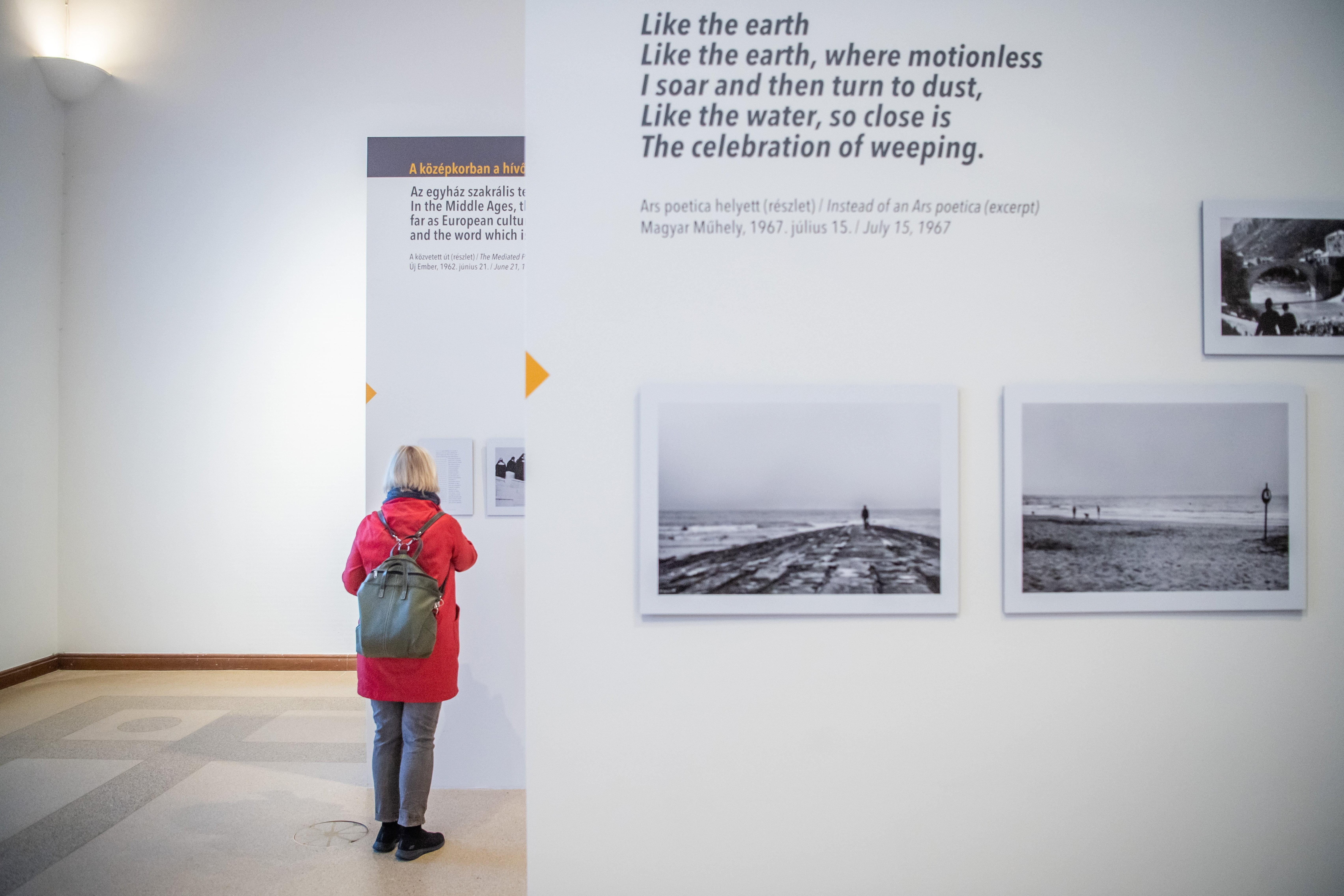 Pilinszky János fotóiból nyílik kiállítás a Műcsarnokban – galéria