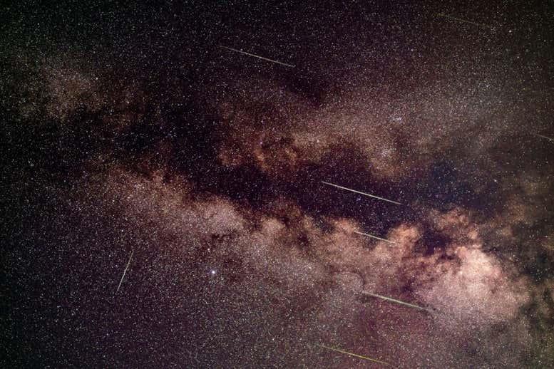 Új meteorzápor jelenik meg a déli félteke égboltján