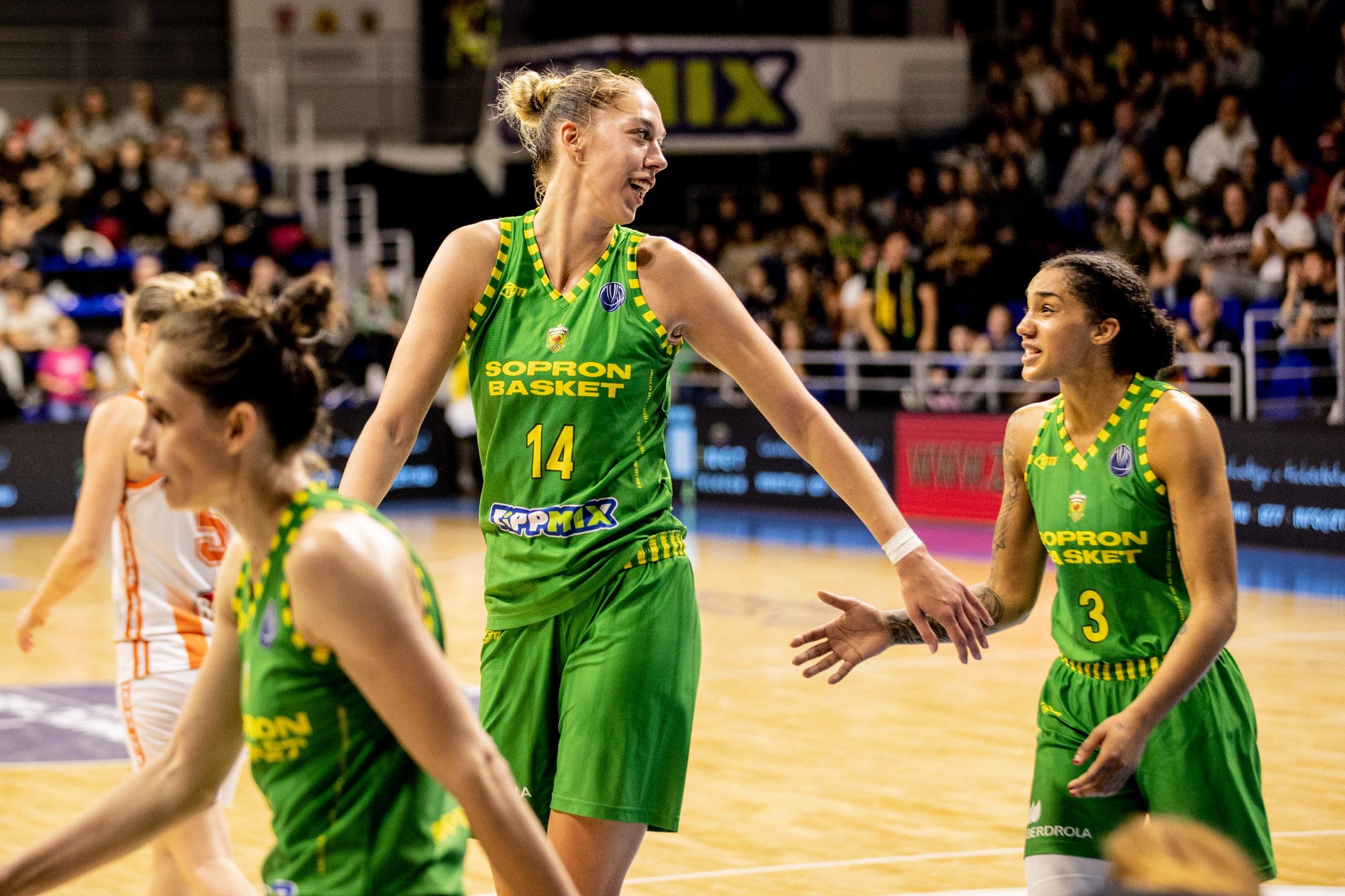 Határ Bernadett világklasszis teljesítménye és a Sopron Basket szárnyalása mindenkit meglepett