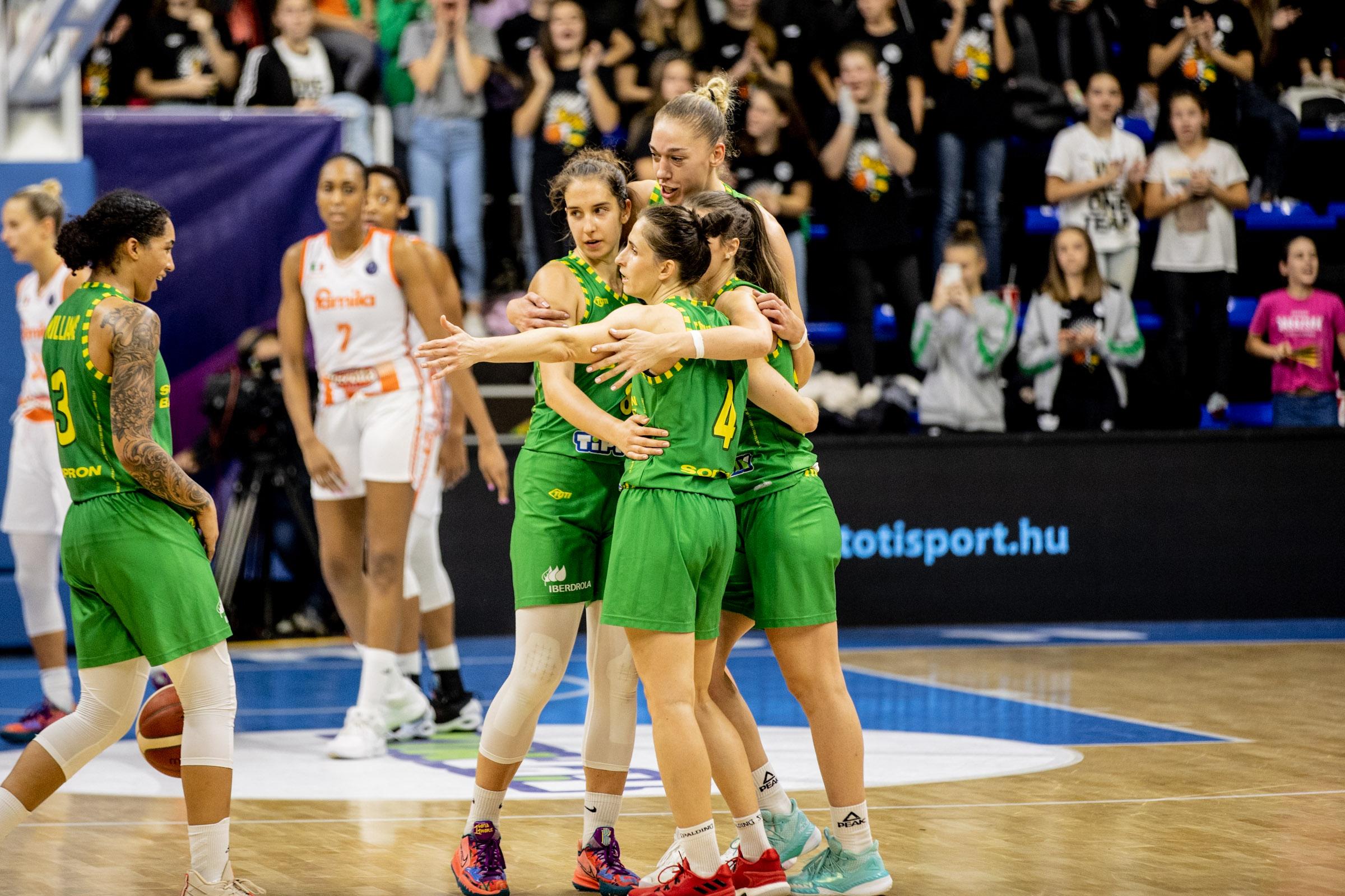 Ha Isztambulban is nyer a Sopron Basket, akkor tényleg nincs lehetetlen