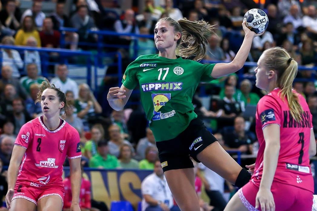 Bravúros győzelmet aratott a Ferencváros a női kézilabda BL-ben