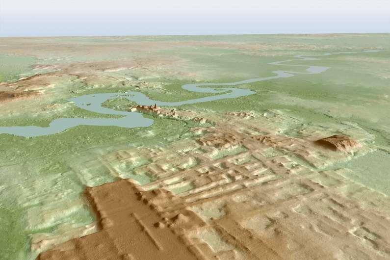 Ősi maja helyek százai egy titokzatos tervrajzot fedtek fel