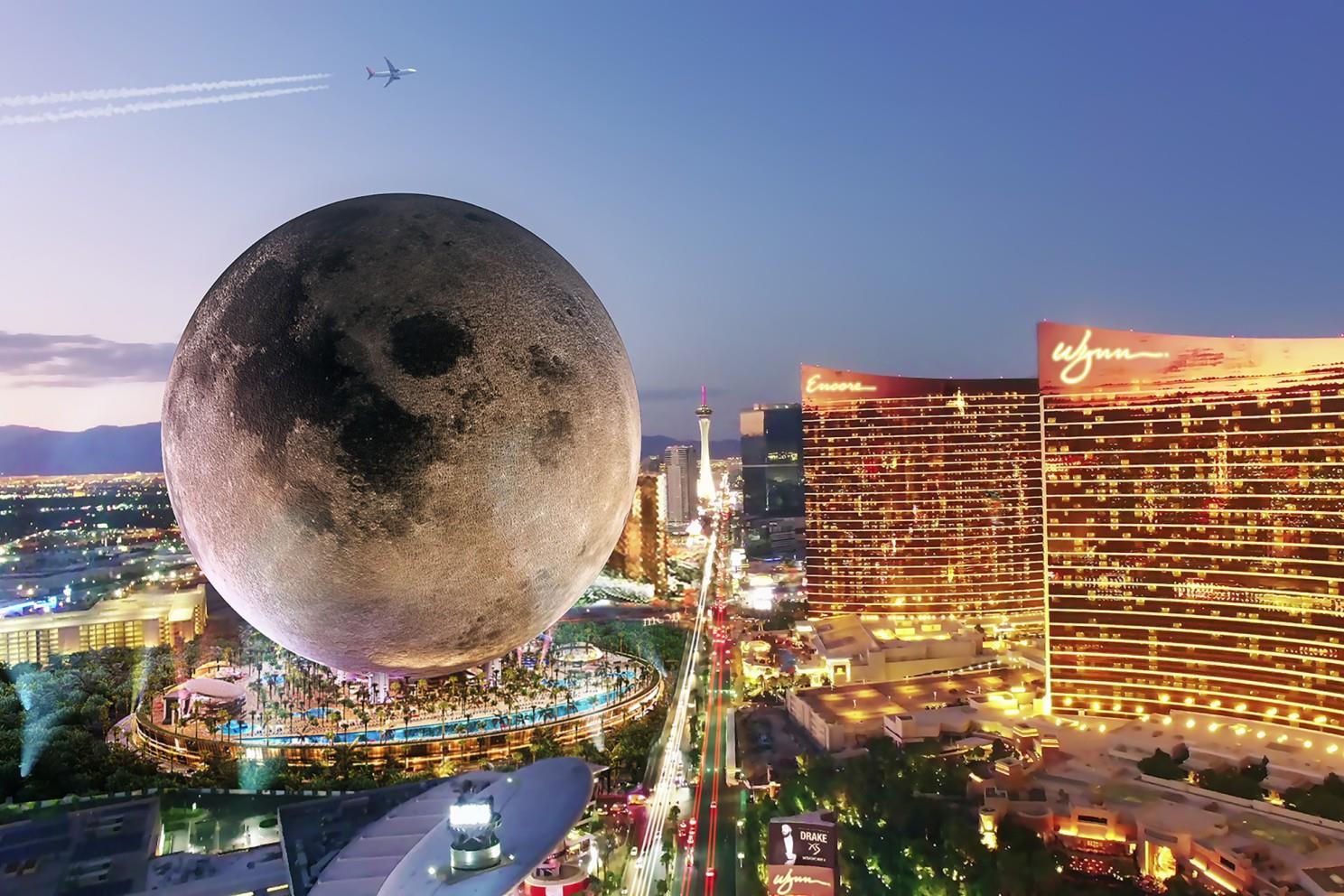Lehoznák a Holdat a Földre a világ legnagyobb gömbépületében - képek