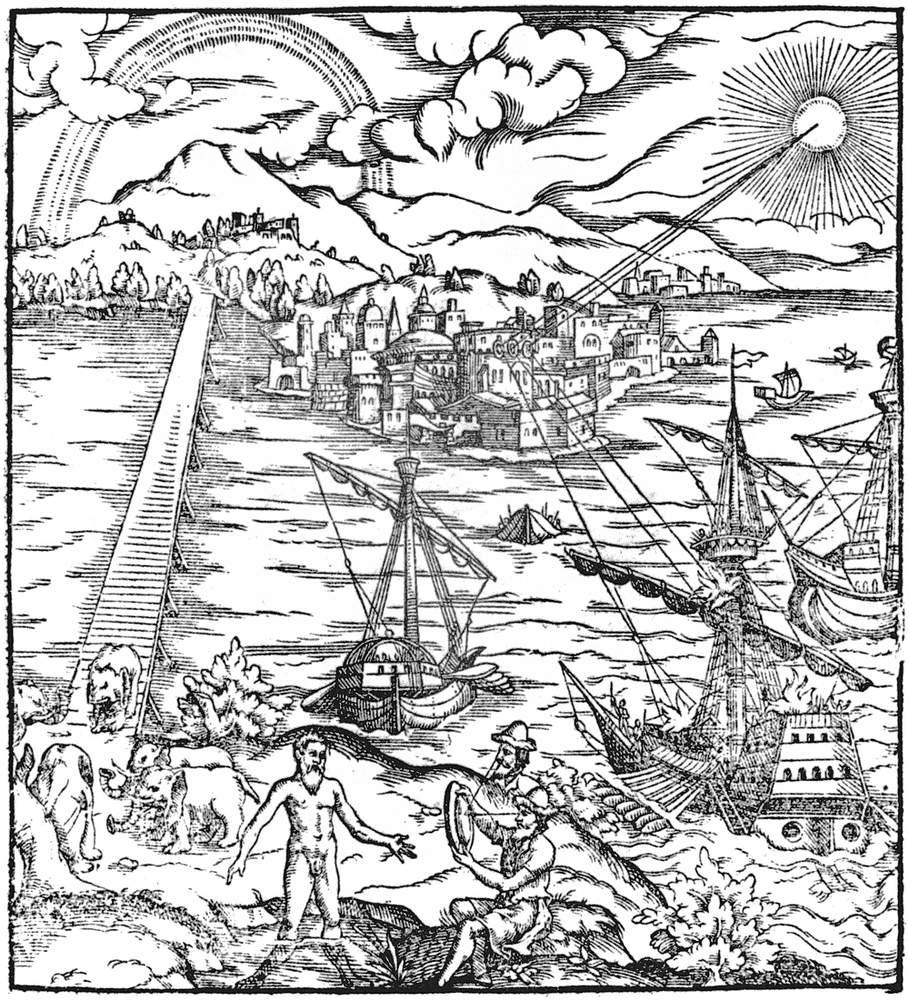 Alhazen Optika című könyvének részleteKép: Wikipedia