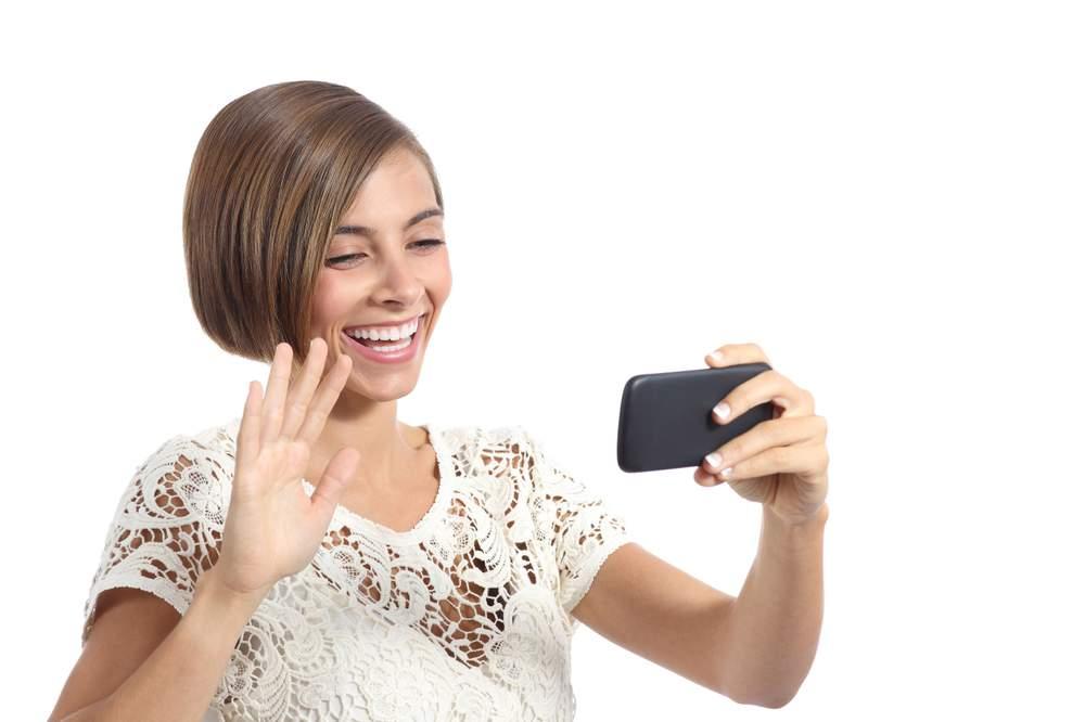 Kommunikálhatunk egymással akár videóbeszélgetéssel isKép: 123rf.com.